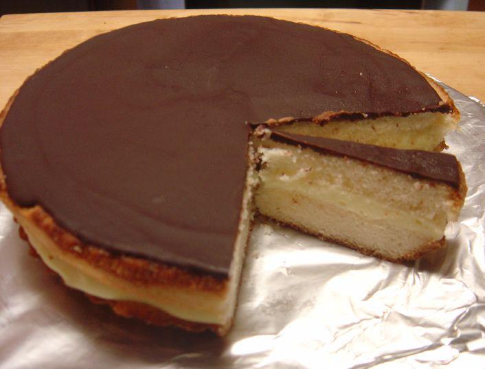 Boston Cream Pie Cake History